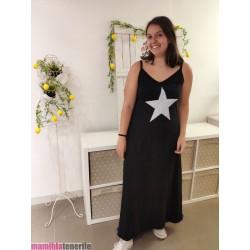 Vestido Asillas Estrella