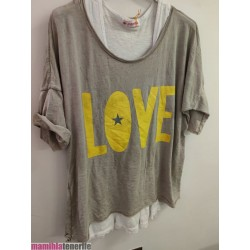 Camiseta Doble Love